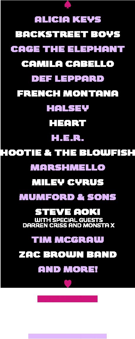 Iheartradio Music Festival Lineup 2020 iHeartRadio Music Festival 2019   iHeartRadio